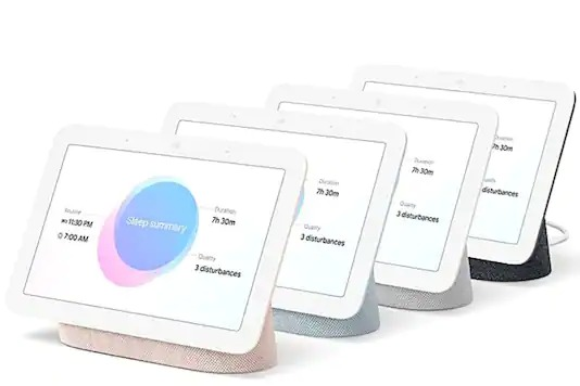 Google Nest Hub (2021) With Sleep-Tracking Features, Improved Audio Launched: Price, Specs